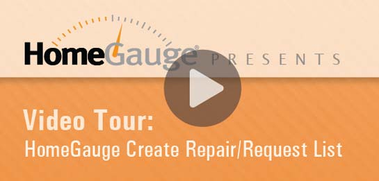 Create Repair List Video Tour