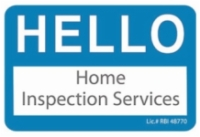 Hello Home Inspection Services Logo