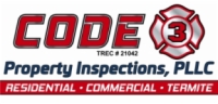 CODE 3 Property Inspections, PLLC Logo