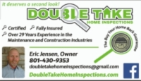 Double Take Home Inspections Logo
