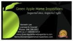 Green Apple Home Inspections Logo