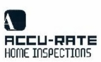 Accu-Rate Home Inspections Logo