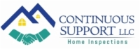 Continuous Support Home Inspections and Testing LLC Logo