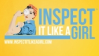 Inspect It Like A Girl Logo