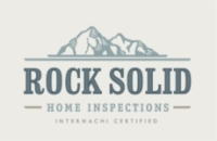 Rock Solid Home Inspections Logo